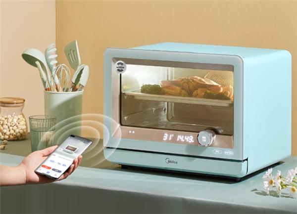 美的首批搭载华为鸿蒙OS的蒸烤料理炉上架华为商城