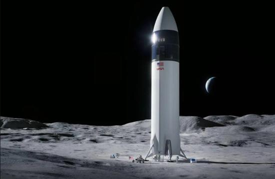 因竞争对手抗议SpaceX的29亿美元登月着陆器合同已暂停