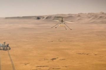 美国宇航局宣布机智号无人机任务延长30天