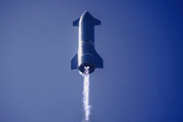 SpaceX公布了首个轨道星际飞船飞行计划